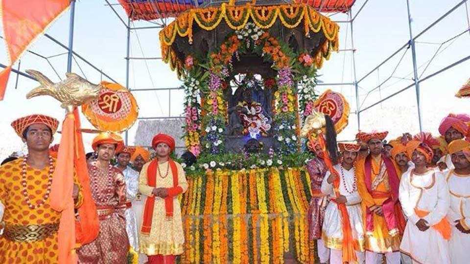 Shivrajyabhishek Day ceremony on 6th June at Raigad