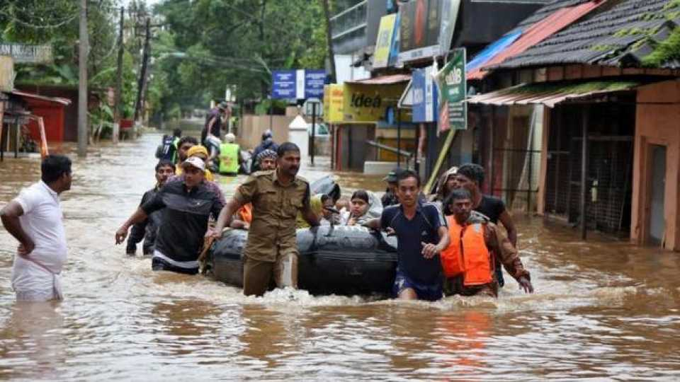 Kerala's 40 players are worried about flooding in the state
