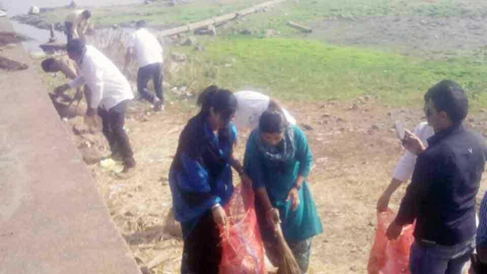 Rankala Sanitation Campaign