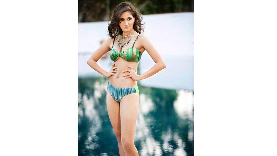 marathi news tv actor nikita dutta bikini look for music video