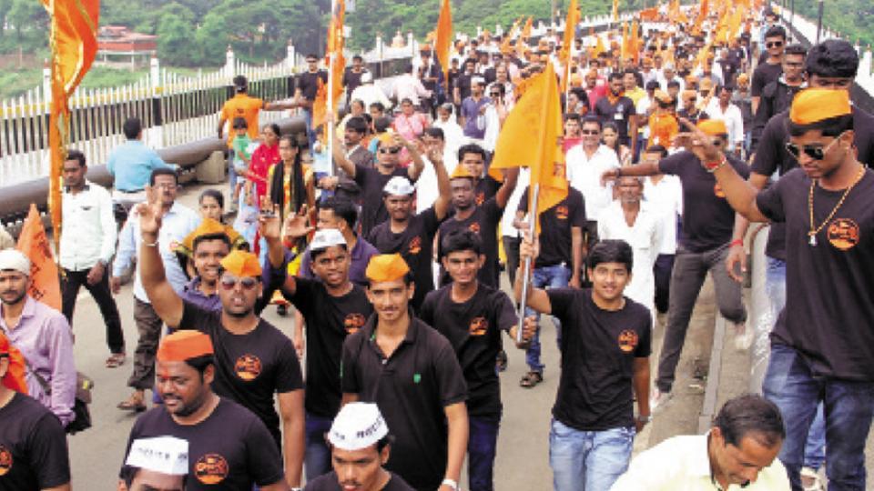 sangli-Maratha kranti morcha