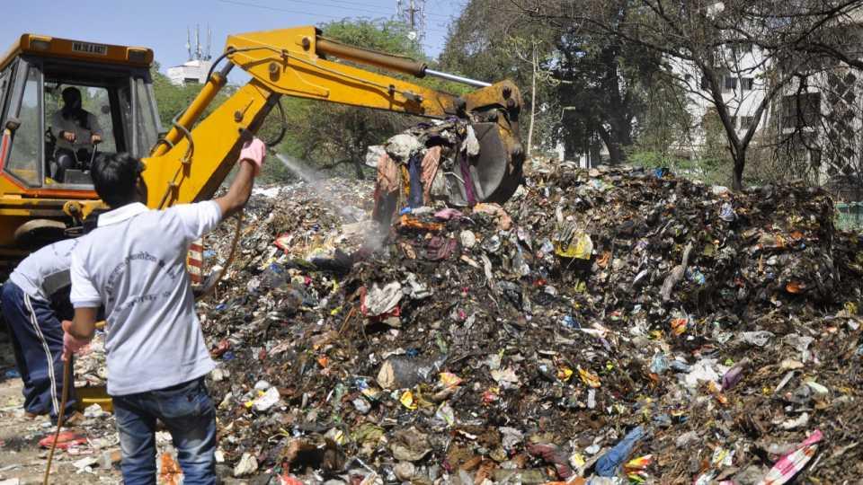 Garbage in Aurangabad