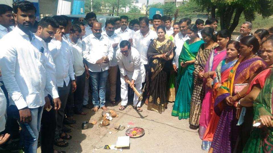 Bhumi Pujan of various development works of 1 crore 32 lakhs