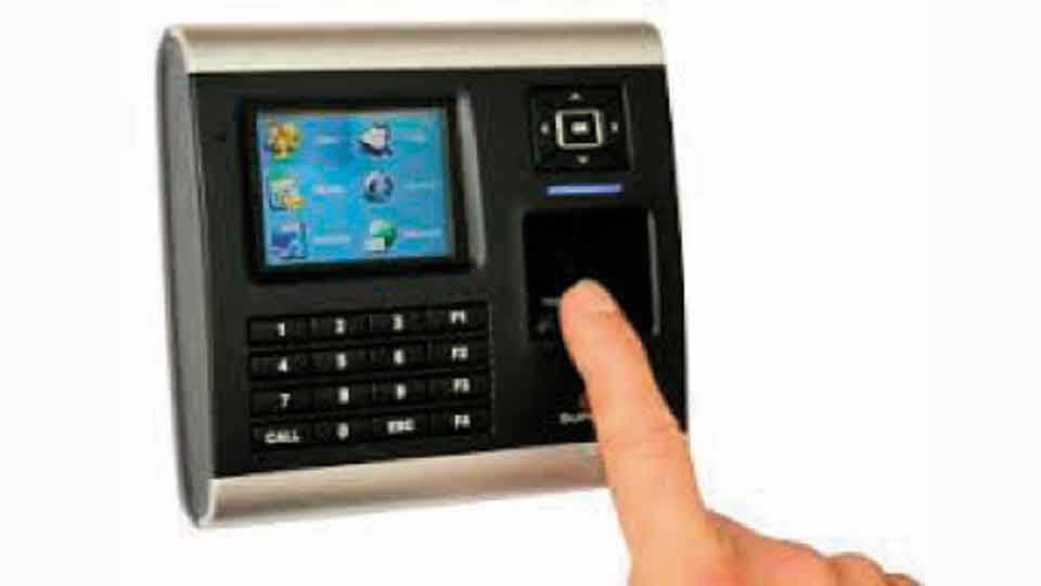 Biometric-Punching