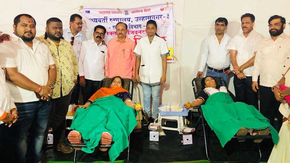 Blood donation to save lives of injured passengers