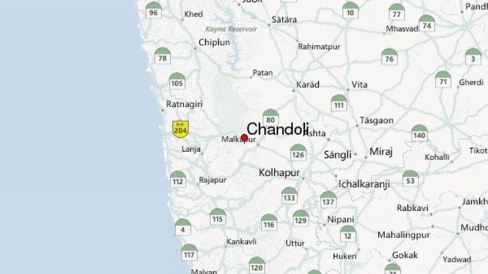 Chandoli earthquake