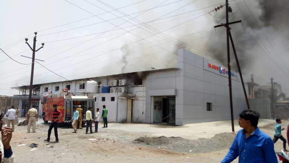Chavan-Motors-Fire