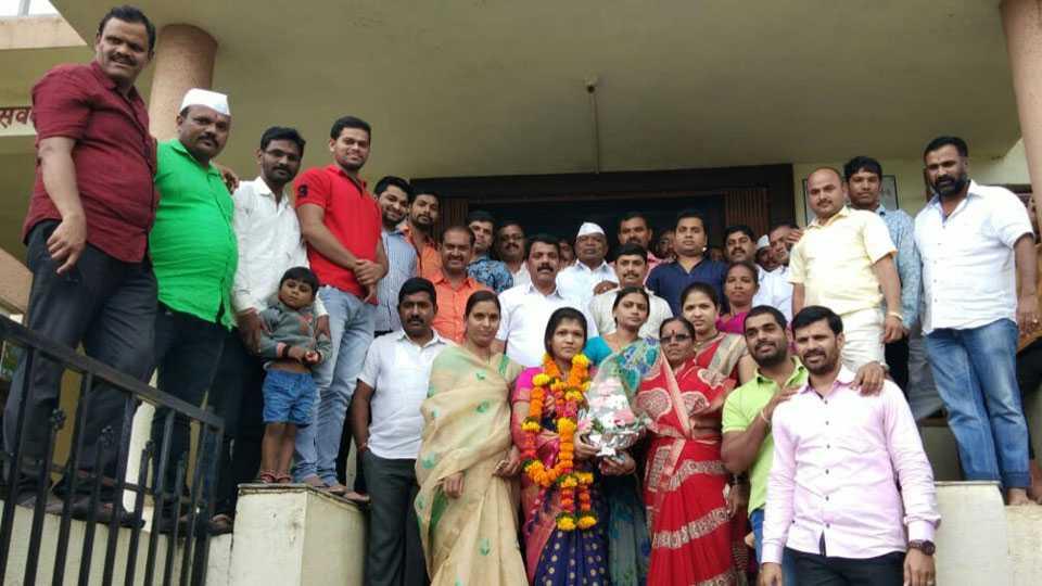 Ashwini Aswale elected unopposed Dy Sarpanch