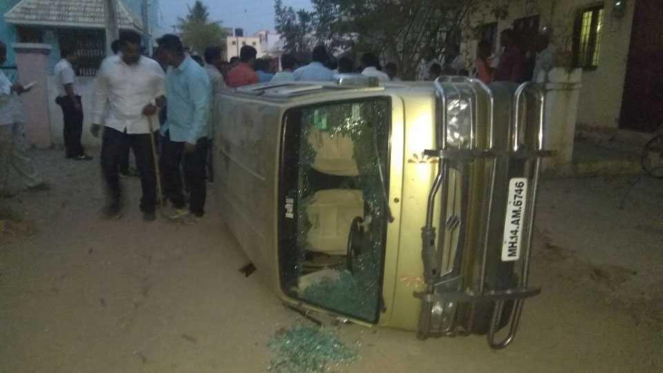 Kedgaon Crime Shivsena Leaders Murder firing