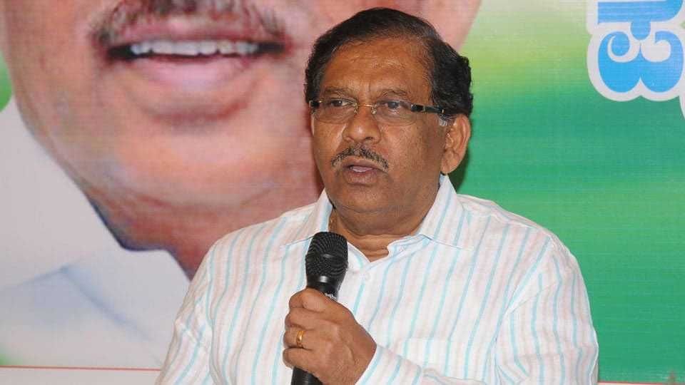 No decision yet on backing HD Kumaraswamy for 5 years says G G Parameshwara