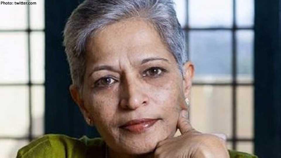 Gauri Lankesh shot dead in Bengaluru