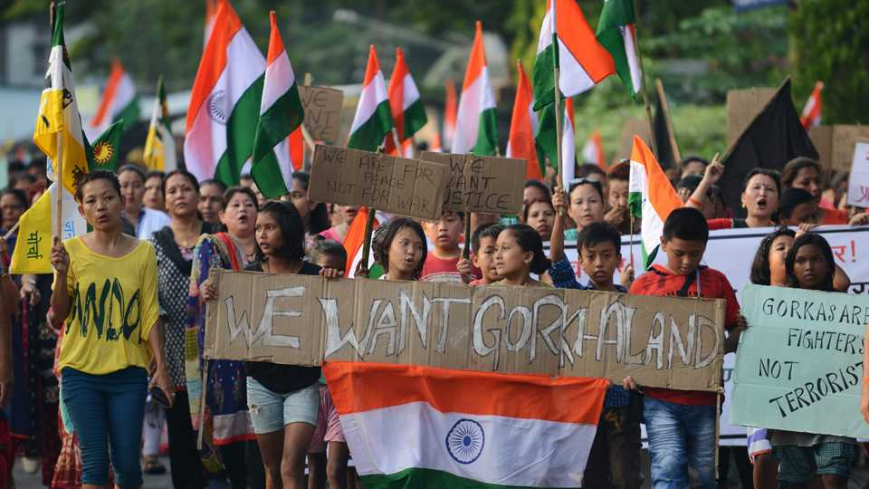 Gorkhaland Protests