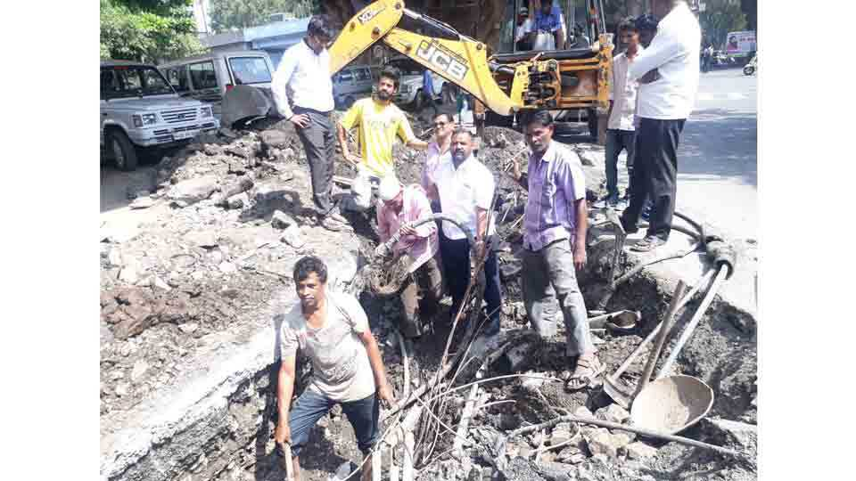 BSNL service disrupted at hadapsar