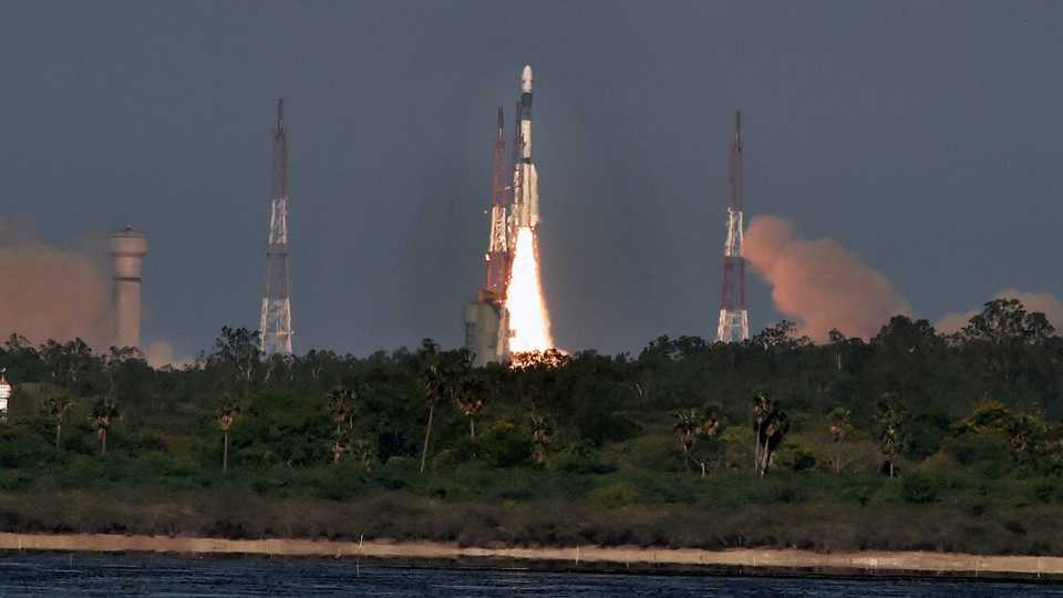 ISRO launches South Asian Satellite