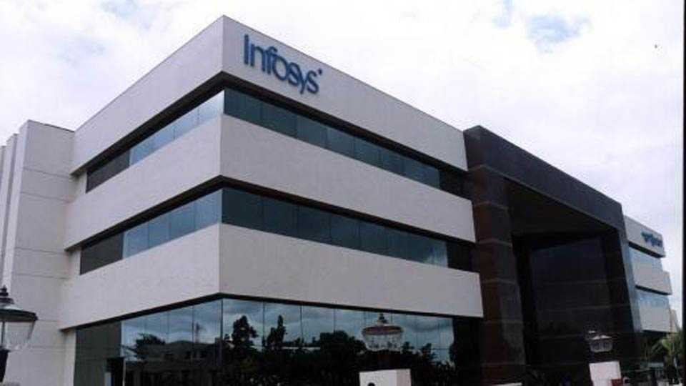 Infosys shares remain under pressure