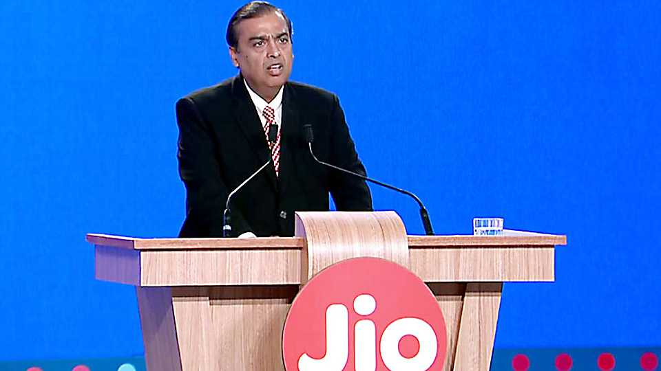 Reliance launches new phone and Giga fiber TV