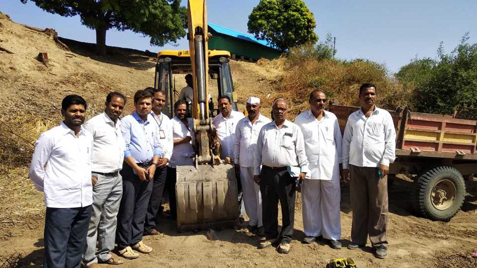 Launch of the MudFree Damage Sludge Shivar Abhiyan