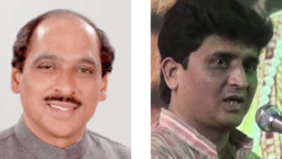 Manikrao Thackeray and Vajahat Mirza
