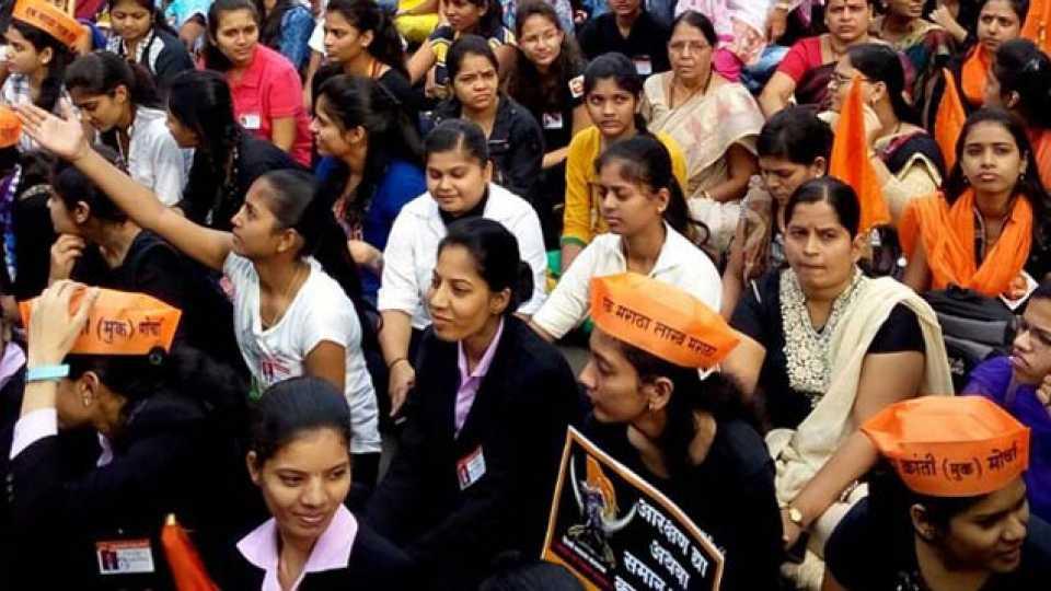 Maratha Kranti Morcha Mumbai Morcha Youth Participation