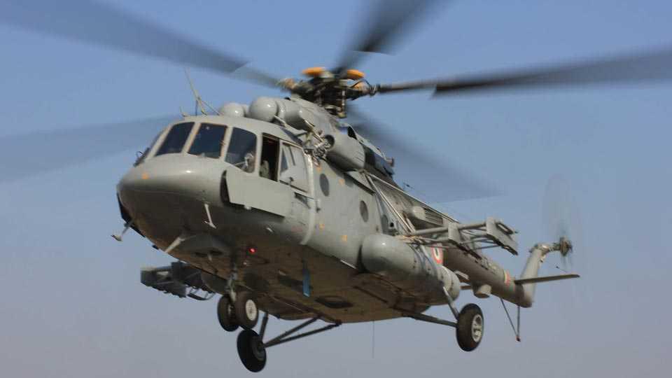Mi-17-chopper