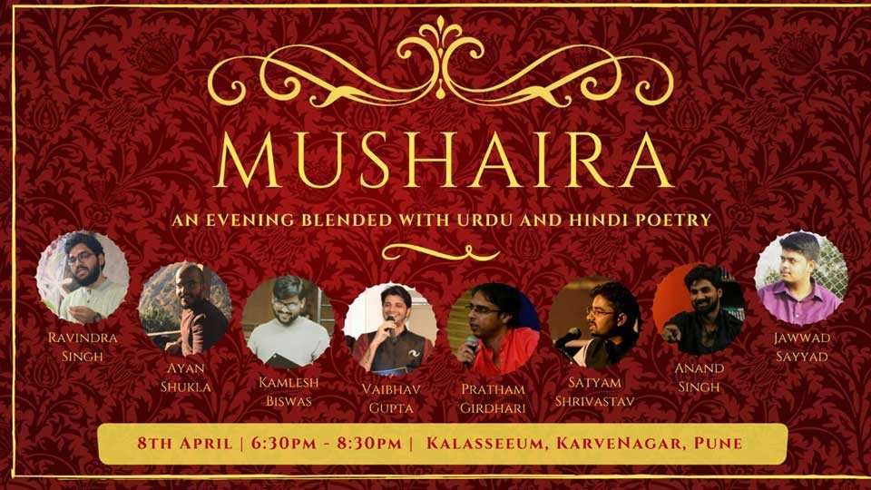 Hindi and Urdu Youth Poets Mushaira in Pune