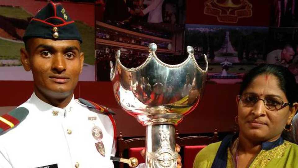 Devendra Kumar NDA Cadet