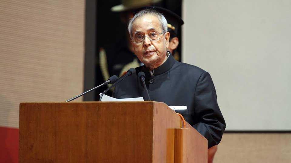 Dr Hedgewar was indias great son says Pranab Mukherjee