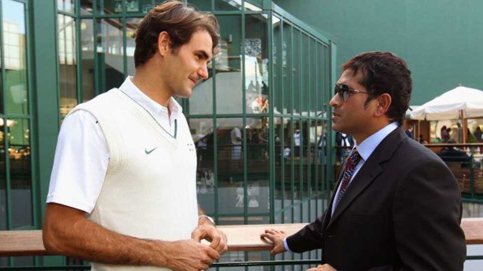 Sachin Tendulkar And Roger Federer talks about Cricket and Tennis