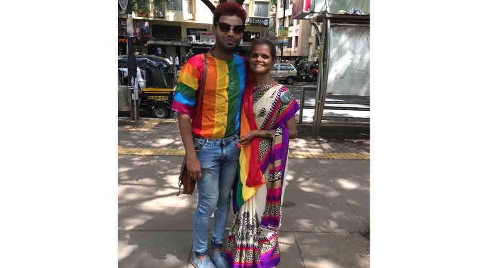 Sankets Explain His Life Struggle in LGBT Community Rally Pune
