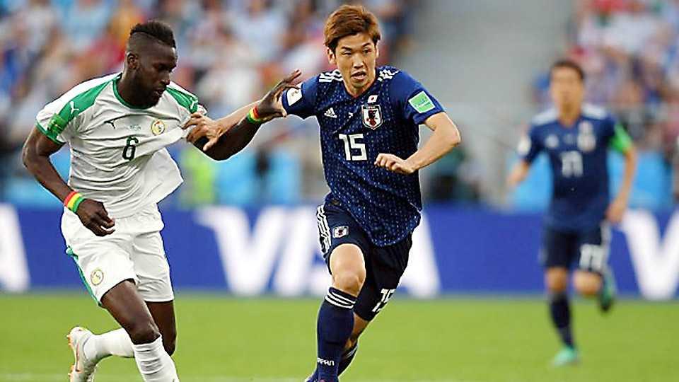 Japan Senegal tie