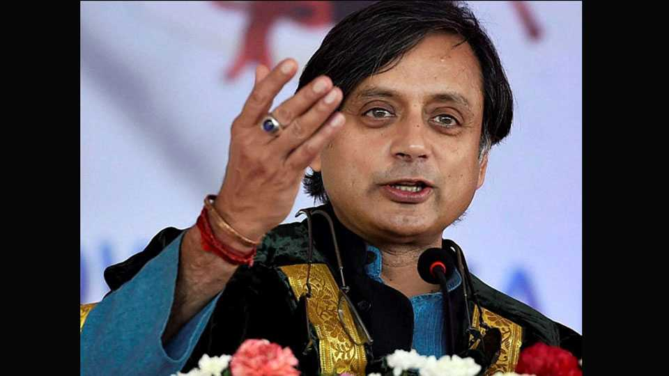 National News Iraq News Incident why government late to inform says Congress Shashi Tharoor