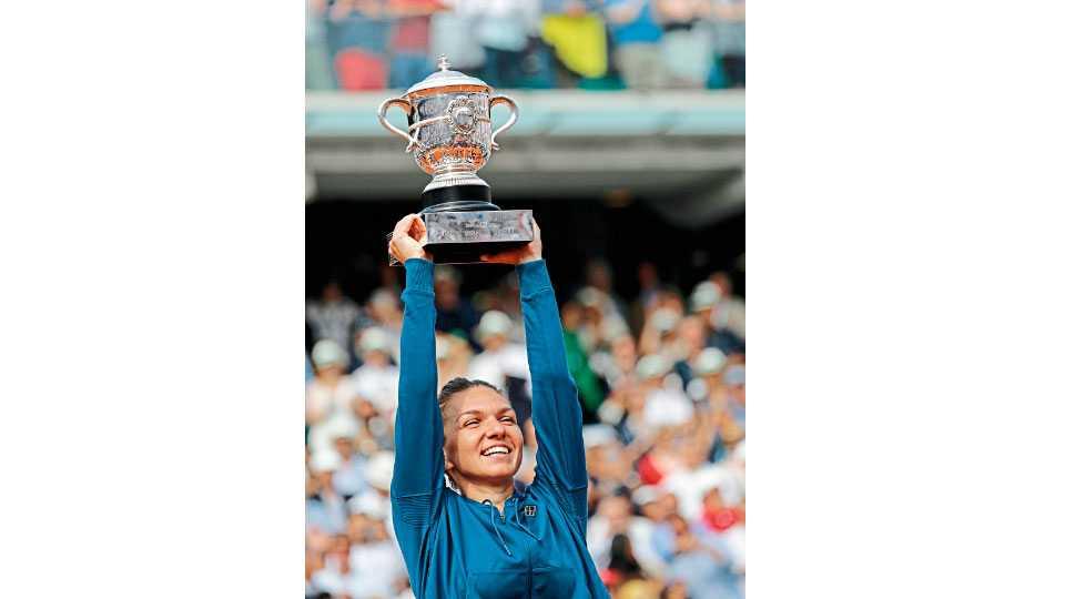 French Open  Simona Halep beats