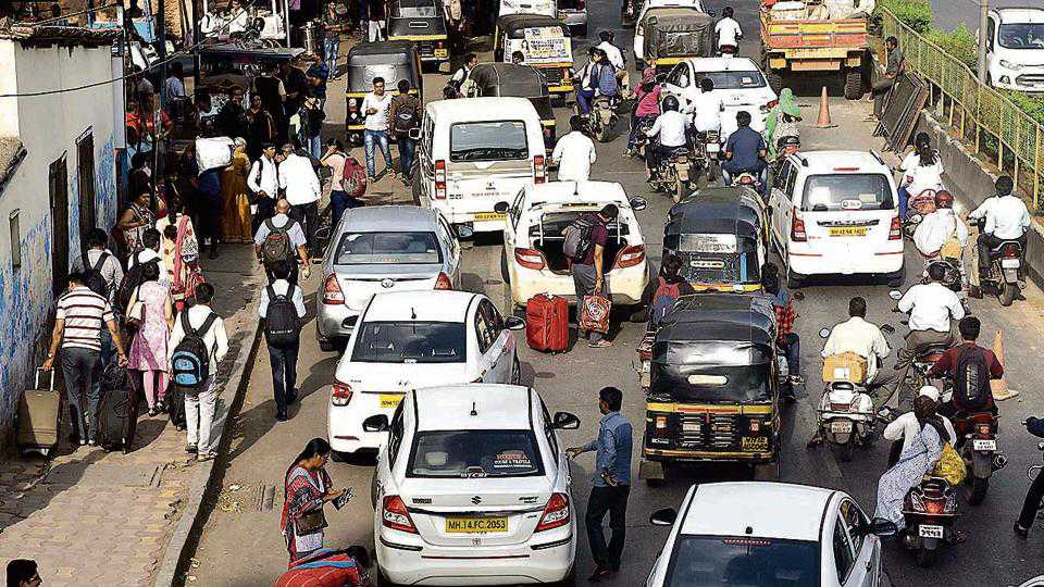 Saturday was of Traffic Jam