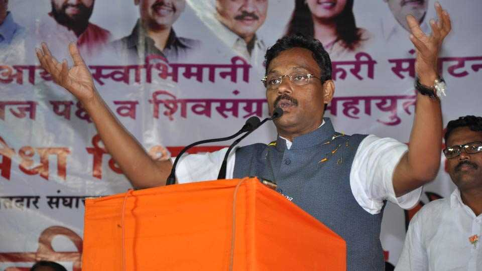 file photo of Vinod Tawde