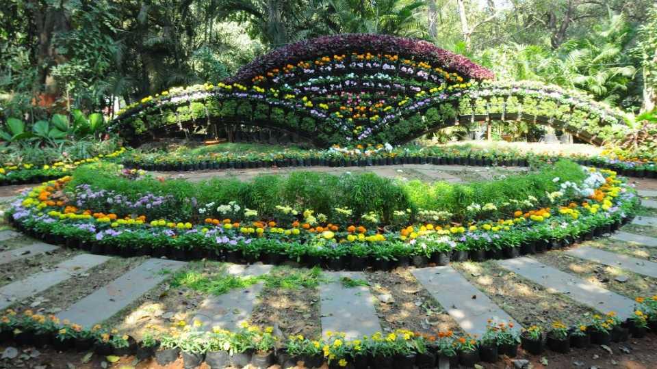 marathi news empress garden flowers exhibition