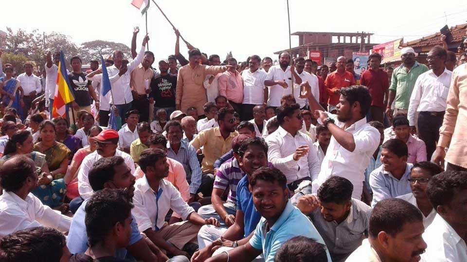 Marathi News Kokan News Lanja Mumbai Goa Highway Koregaon Bhima Protest