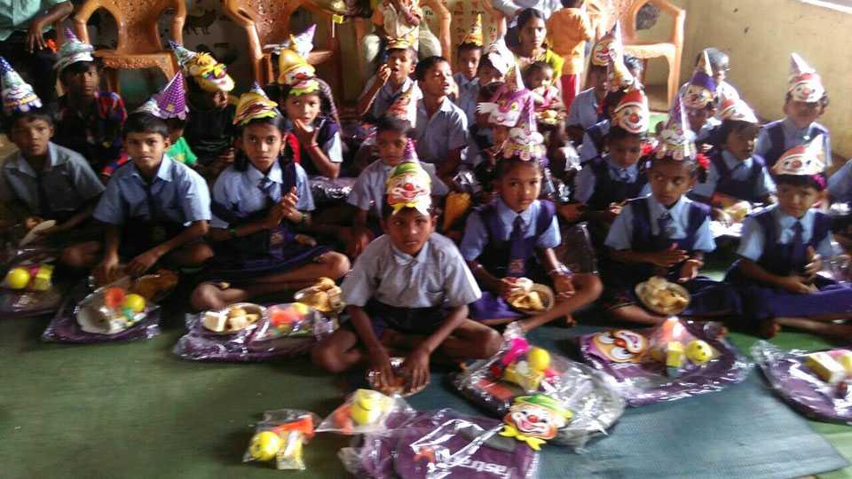 marathi news kokan birthday celebration education kit need students