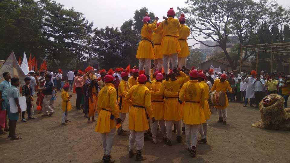 mumbai kalyan welcome yatra message chalachitrarath