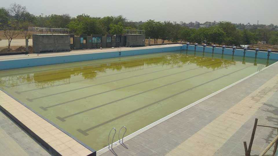 Stainless Steel Swimming Pool Tests Start