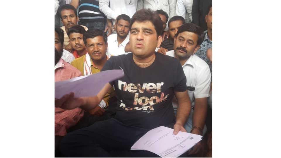 #MarathaKrantiMorcha MLA harshavardhan jadhav resign letter