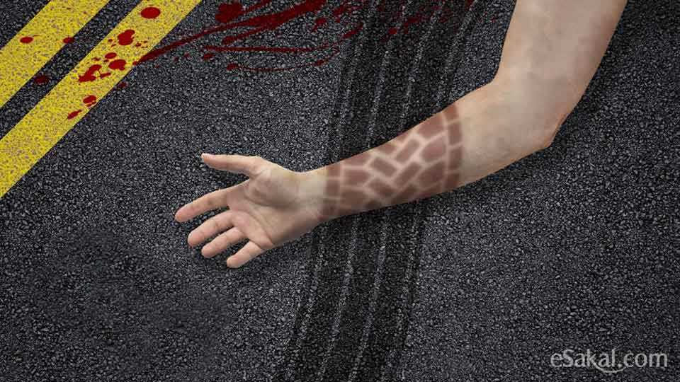 Marathi news road accident in Sangamnear Ahmednagar
