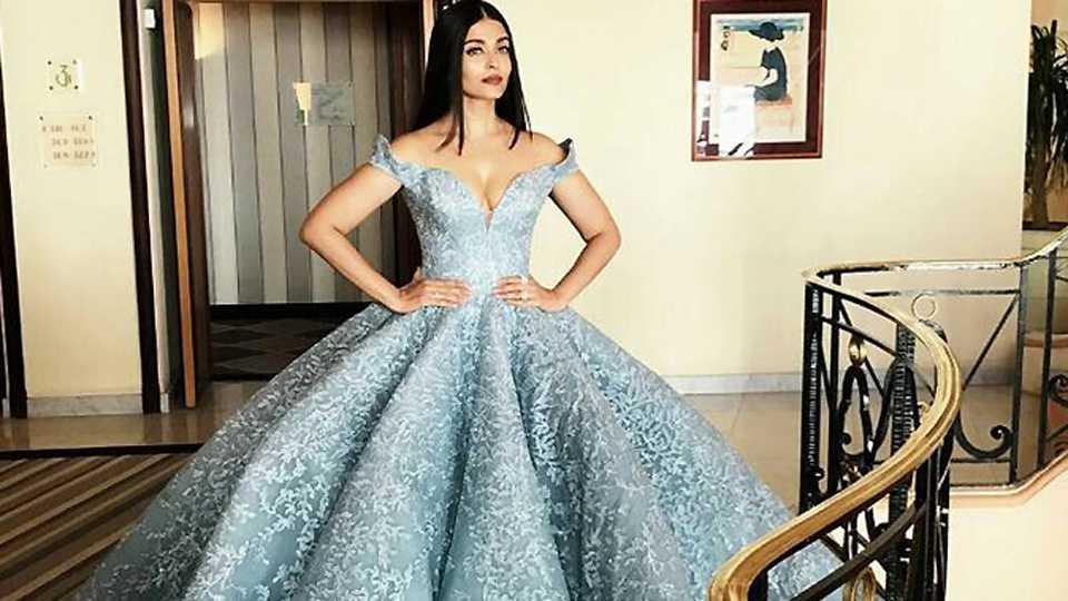 Aishwarya's Cannes look