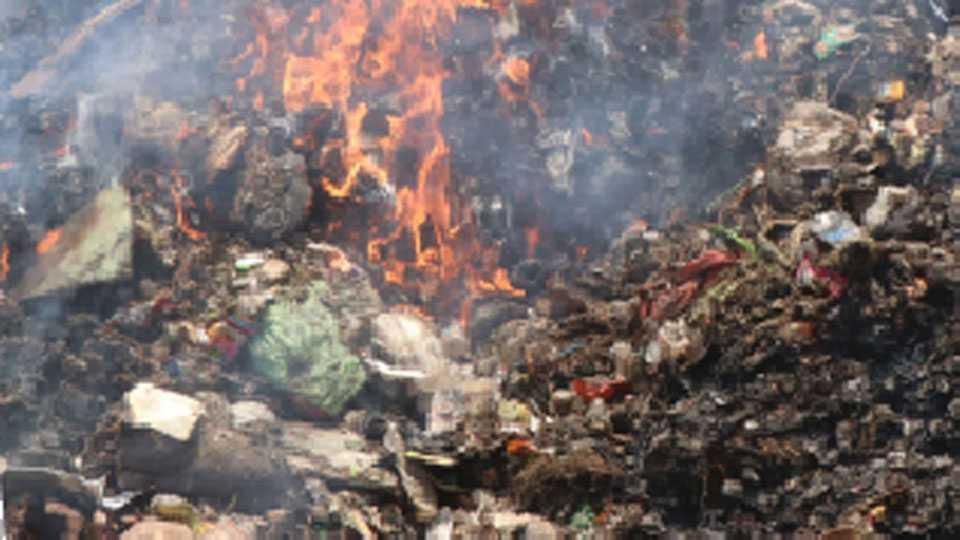 aurangabad-fire-garbage