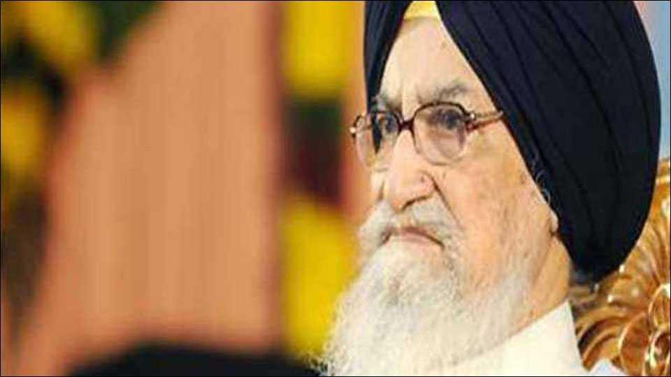 Former Punjab Chief Minister Surjit Singh Barnala passes away