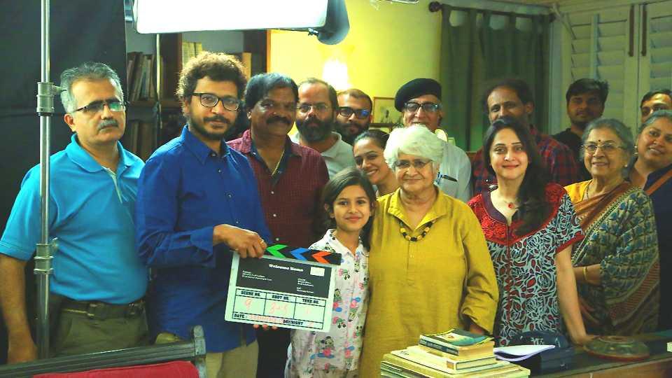 sumitra bhave sunil sukathankar new film welcome home marathhi esakal news
