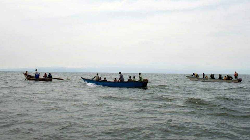 Ugandan football players and fans drown on Lake Albert as 30 die when party boat capsizes