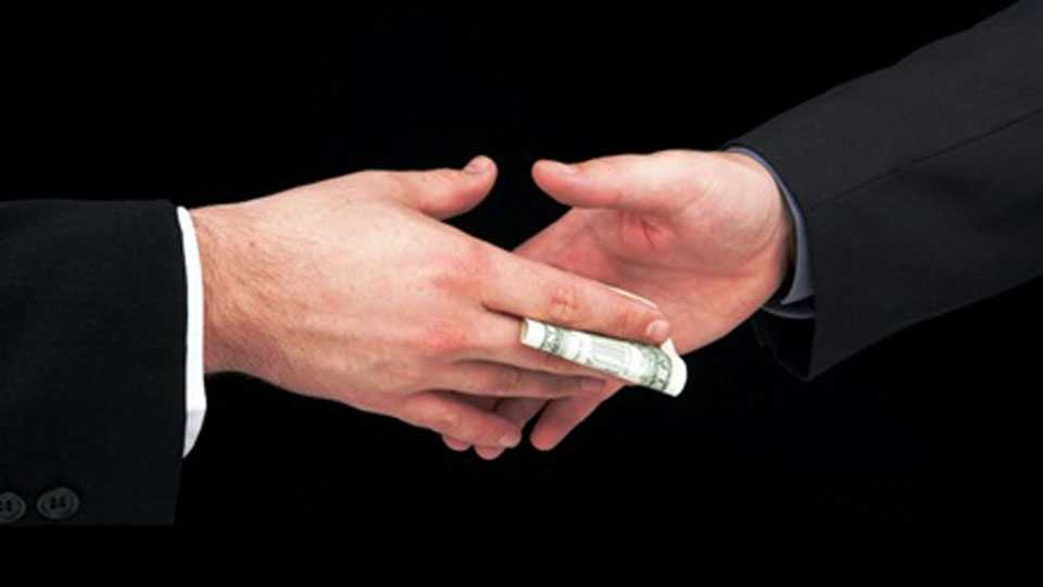 Officers Taking bribe of Rs 6 lakh officer Arrested