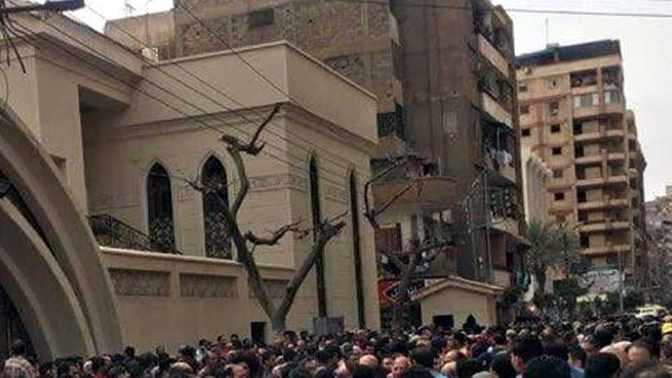 15 Dead In Egypt Church Bombing