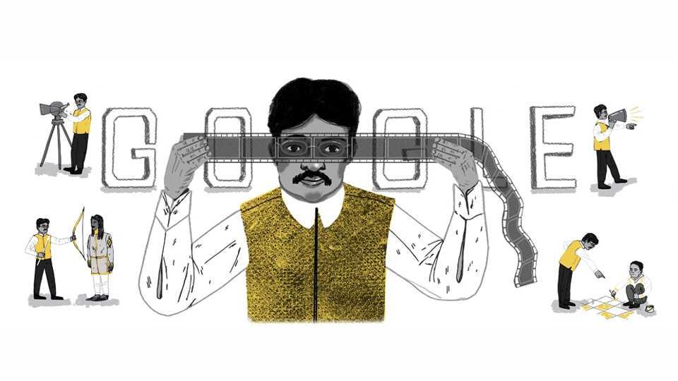 Google Doodle For Dadasaheb Phalke Birth Anniversary