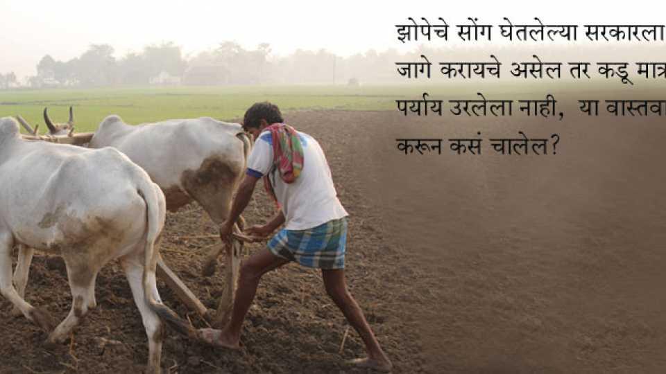 farmer issue farmer agiation ramesh jadhav article